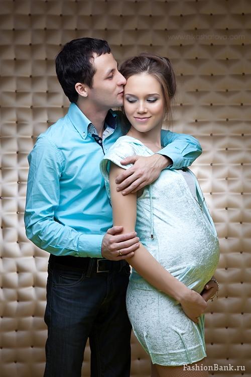 Беременных девушек с мужем 1043